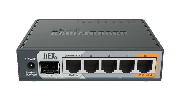 MIKROTIK • RB760iGS • Ethernet Router hEX S