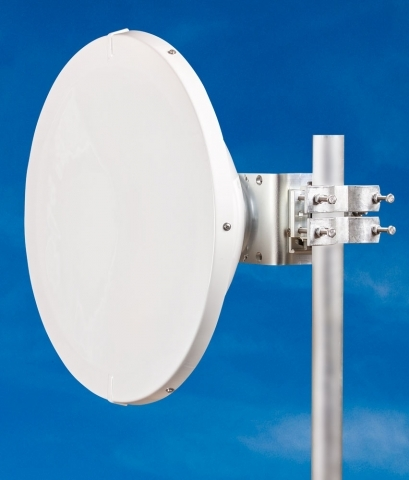 JIROUS • JRMD-680-10/11 Al • Parabolic dish antenna with precision holder for Alcoma Units